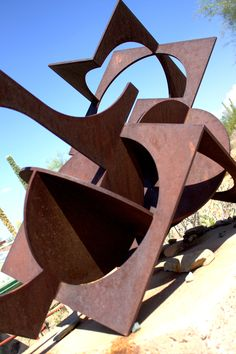 Inspirational sculpture at Taliesin by Heloise Crista