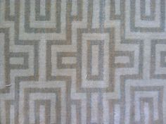 This is a 100% woven wool carpet remnant with a geometric pattern. Feel free to check out what else we have in stock. www.carpetworkroom.com