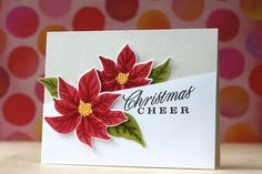 Christmas Cheer Card by Laura Bassen for Papertrey Ink (October 2014)
