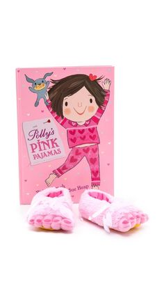Gift Boutique Polly's Pink Pajamas Book Set