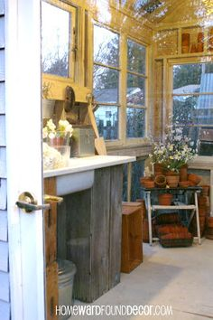ideas for potting shed