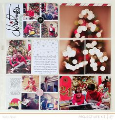 #papercraft #scrapbook #layout.    <3 Ideas for this #Christmas
