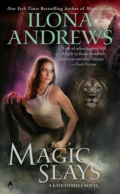 Book Chick City | Reviewing Urban Fantasy, Paranormal Romance & Horror | REVIEW: Magic Slays by Ilona Andrews (click for review)