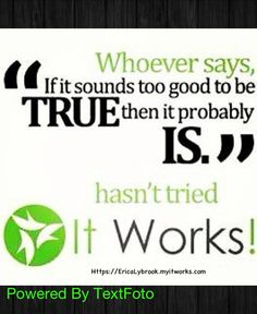 It works  message me at  www.fitmegs.myitworks.com