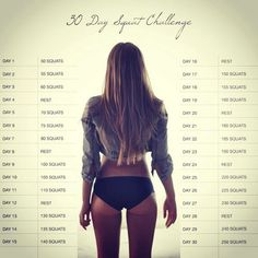 challenges, squat challenge, workin, squats, healthi, healthfit, workout