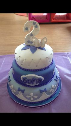Sofia the First cake ordered at www.sweetbitescompany.com