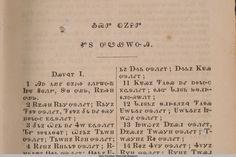 Cherokee Bible #cherokee