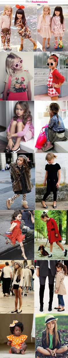 mini fashionistas #cute #little #kids #children #girls #fashion #clothes #outfit #model