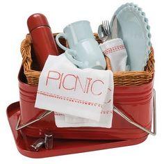 Love this picnic basket
