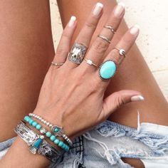 midi rings, stone ring, silver jewellery, dogeared ring, dogeared moon ring
