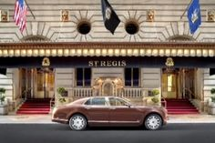 The St. Regis Hotel is already drop-dead gorgeous, but the new Bentley Suite on the hotel's 15th floor, overlooking glam 5th Avenue and Central Park, puts these digs in a posh new category.