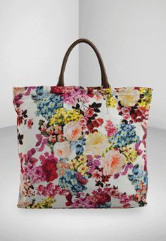 magnific ss11, fabul floral, ss11 collect, ds magnific, floral tote