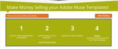 Sell and Earn!! Now you can get up to 60% of your Adobe Muse Templates.   http://mimundografico.com/sell-adobe-muse-web-templates.html