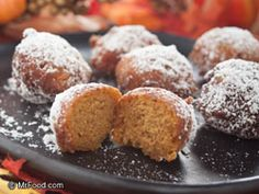 How about a bit of a treat on Christmas morning? Our easy Christmas morning recipe for Pumpkin Doughnut Holes combines pumpkin and cinnamon for a comfy, cozy treat while spending time with your family.