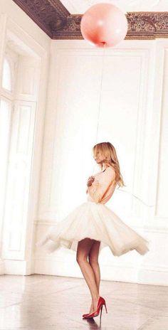 skirt, clemence poesy, red shoes, birthdays, dresses