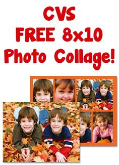 FREE CVS 8x10 Photo Collage!