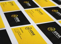 Steve's Home Improvement LLC Business Card #branding #visualidentity #logodesign #corporateidentity #stationery