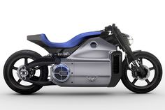 Voxan Wattman Electric Motorcycle