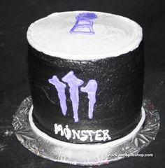 monster mad, drink birthday, 3d monster, energi drink, drink abccakeshopcom, monster energi, monster energy, energy drinks