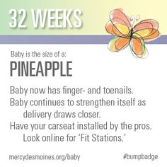 32 Weeks #bumpbadge | Mercy Medical Center - Des Moines