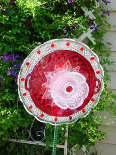 Red and White Forever Flower
