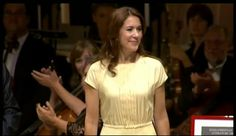 """17 AUGUST 2014 Crown Princess Mary Crown Princess Mary presents """"The Hans Christian Andersen Litterature Award"""" in Odense Concert Hall, Odense."""