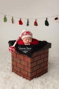 Christmas photo prop Christmas prop Newborn Photo by MrAndMrsAndCo, $140.00
