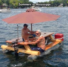 Whatever floats your picnic table… Maybe someday?