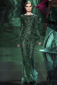 monique lhuillier, fashion weeks, color, runway, evening gowns