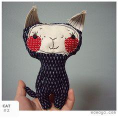 sew, kitty cats, craft, softi, children toys