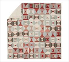 Charlotte Patchwork Quilt & Sham | Pottery Barn