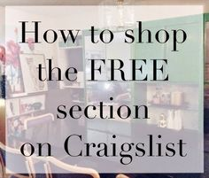 Shop Craigslist Free