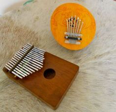 A Homemade Mbira (kalimba) project made from wood and bobby pins!