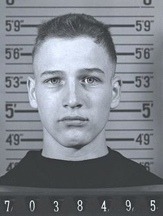 a very young Paul Newman