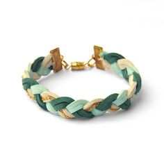 Love this woven bracelet from Paris, and just $16 with free ship!