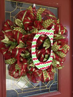 Christmas wreath by CreativeAnd2Cute on Etsy