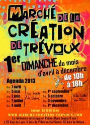 Marché de la Création de Trévoux, Rhône-Alpes