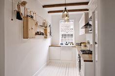 Cozy home with wood - via Coco Lapine Design
