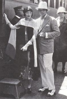 Natacha Rambova & Rudolph Valentino, 1925.