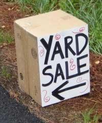 A Yard Sale Checklist: Ten Tips for Garage Sale Prep