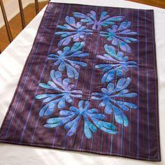 patchwork, bed runner, download pattern, pattern arabesqu, quilt table runners, hawaiian quilt, tabl runner, free download, arabesque