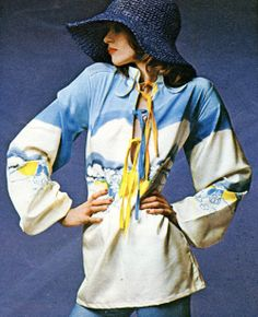 The Sunday Times Magazine, August 1970. Photographed by Hans Feurer. Scanned by Miss Peelpants. Design by Lyn and Mary.