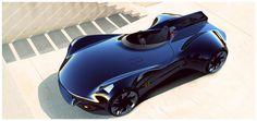 Jaguar XK-I Concept Car by Mudit Gupta