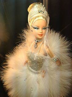 The Queen Special White Swan Version Prima Ballerina Bob Mackie Barbie Mold Ed | eBay