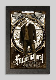 Supernatural Dean Winchester Poster
