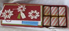 Stamp & Scrap with Frenchie: Nugget box and gift card holder all in one