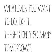 Just do it.  #feelbeautiful