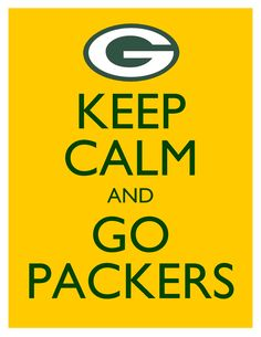 Keep Calm and Go Packers