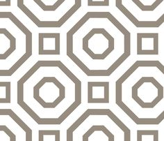 Geometry Gray fabric by avance on Spoonflower - custom fabric