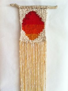 Sunset Portal Woven Wall Hanging